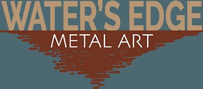 Water's Edge Metal Art logo